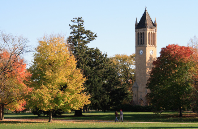 Campanile in Autumn