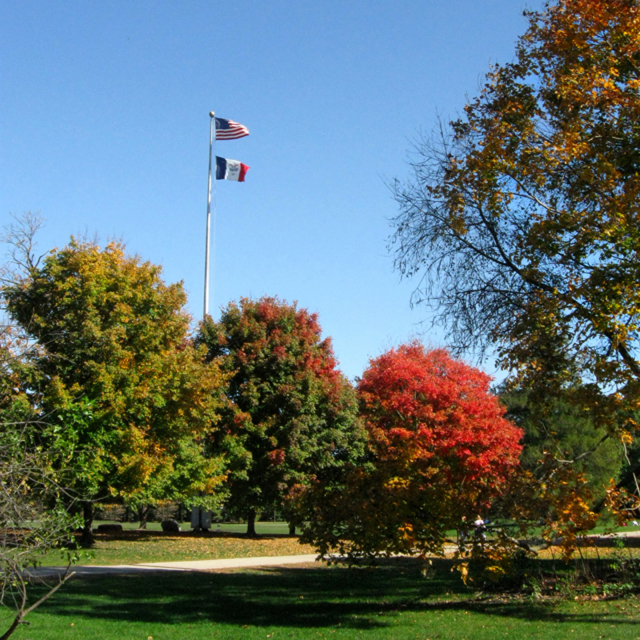 Central campus - Fall 2010