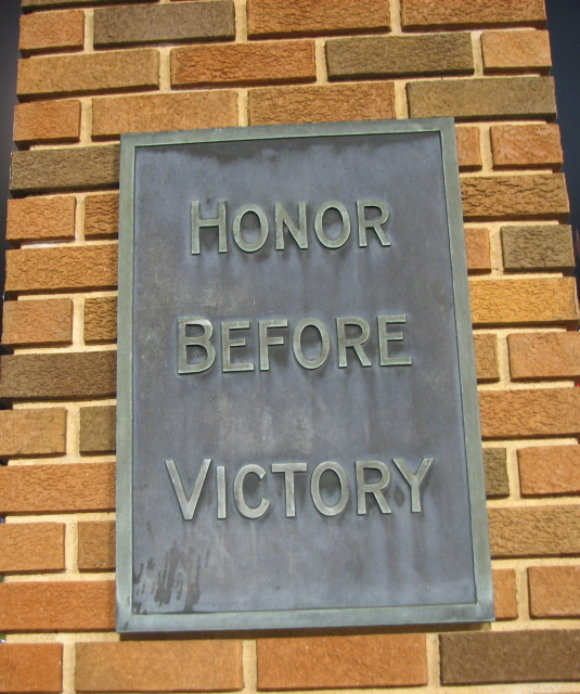 Honor Before Victory
