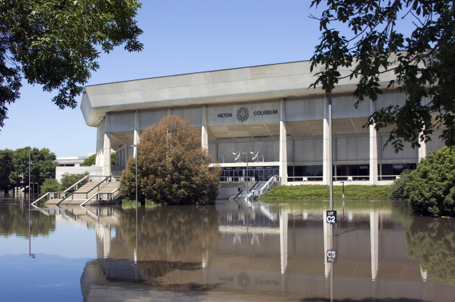 2010 Flooding at Hilton Coliseum