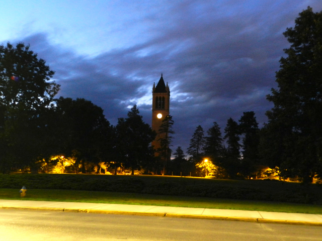 Campanile by night