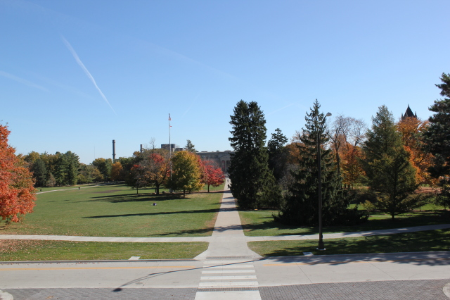 Central Campus from Beardshear