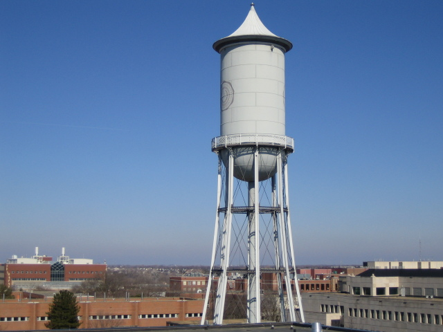 Marston Water Tower Bird's Eye View