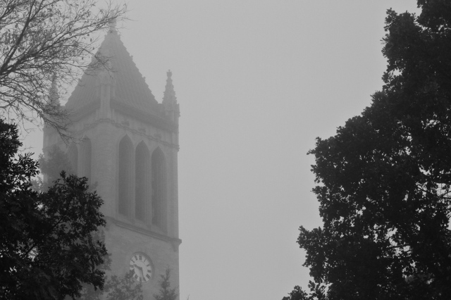 A Foggy Day in Ames