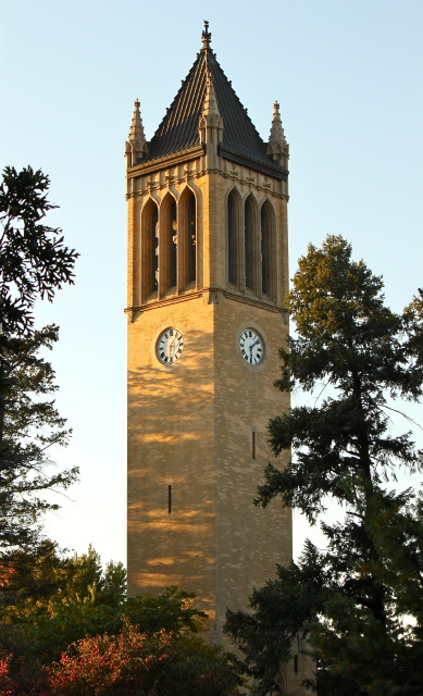 Sunset on the Campanile