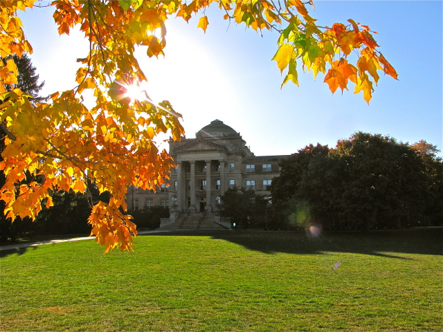 The start of Fall on ISU's Central Campus