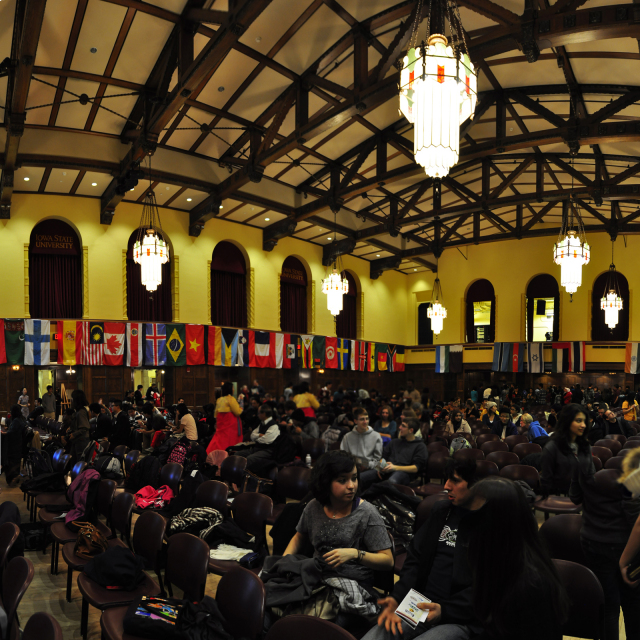 Great Hall, International Night