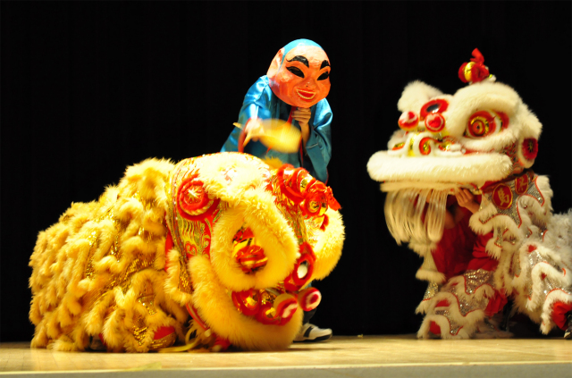 Lion Dance - International Night
