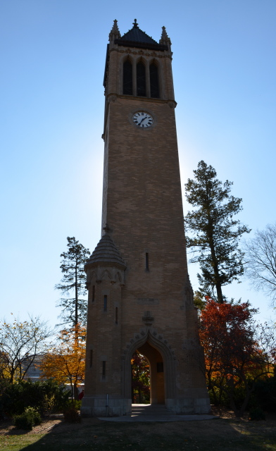 Campanile during Fall