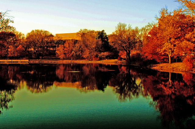 Iowa State in the Fall