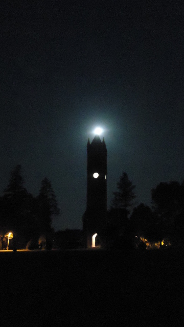 The Moon, and The Campanile