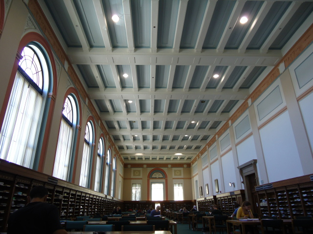 Periodical room in Parks Library