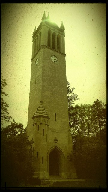 How old is the Campanile?