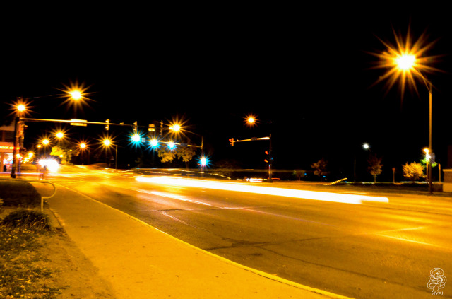 Lincoln Way @ Night