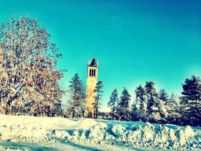 Let it snow, Campanile