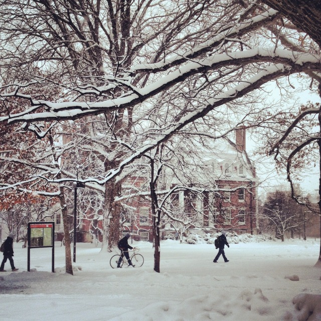 Winter at ISU