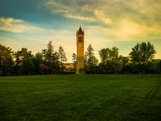 Late-Spring Evening's Campanile