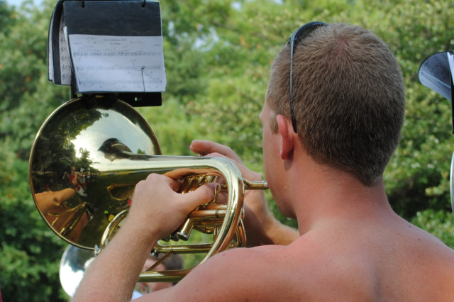 Mellophone with a View