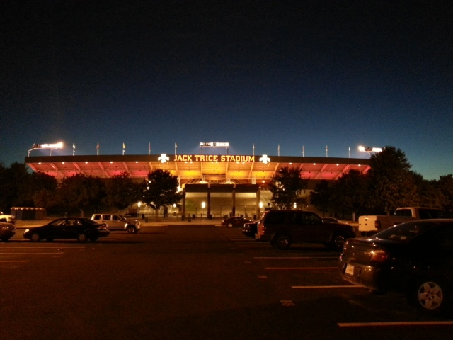 Jack Trice at Night