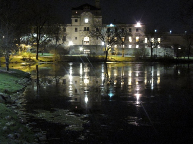 Memorial Union At night