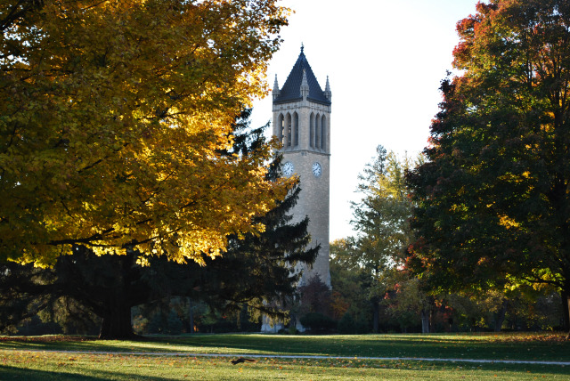 Campanile on a Fall morning