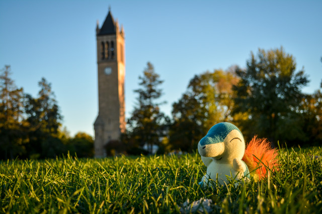 Cyndaquil's Adventure at Iowa State