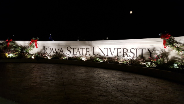 A Holiday Night at Iowa State