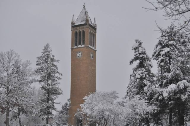 The Winter at Iowa State
