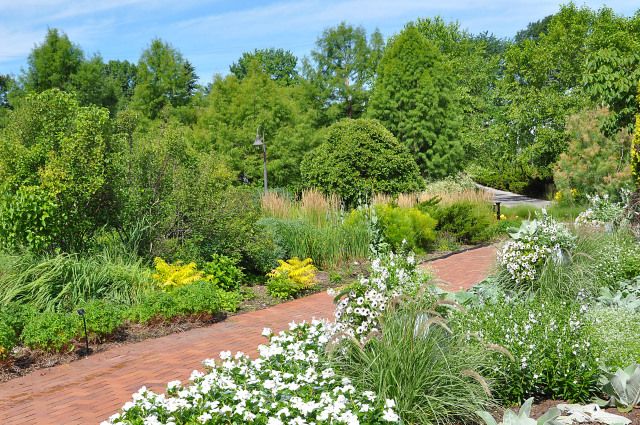 South Mixed Border at Reiman Gardens