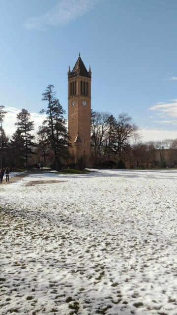 The Campanile in Winter 2016